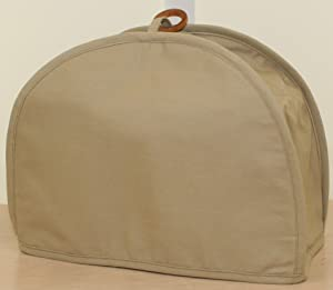 The Curtain Shop America at Home 2 Slice Toaster Cover Tan
