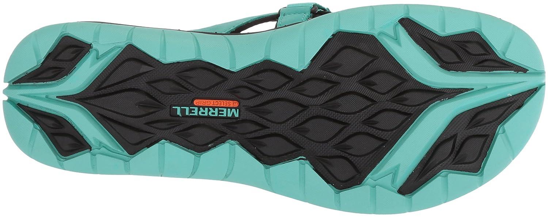 Merrell Women's Siren Flip Q2 Athletic Sandal B072BXV755 6 B(M) US|Turquoise
