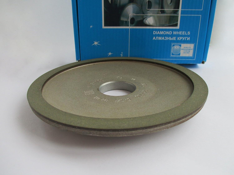 Hole 1.26 Width: 0.4 Dia 6 Type: 12A2-20 Dish Diamond Grinding Wheel 32mm. 100//80 Micron = 180 Grit 10mm. 150mm.