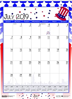 product image for House of Doolittle 2019-2020 Monthly Seasonal Wall Calendar, Academic, 12 x 16.5 Inches, July - June (HOD3395-20)