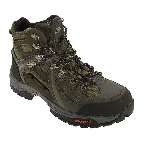 1695f80e3 Trespass - Botas de montaña/Trekking con Cordones e Impermeable Modelo  Rhode para Hombre Caballero