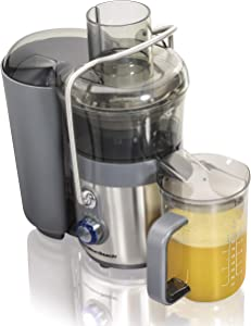 Hamilton Beach Easy Clean Big Mouth 2-Speed Juice Extractor (67850) (Renewed)