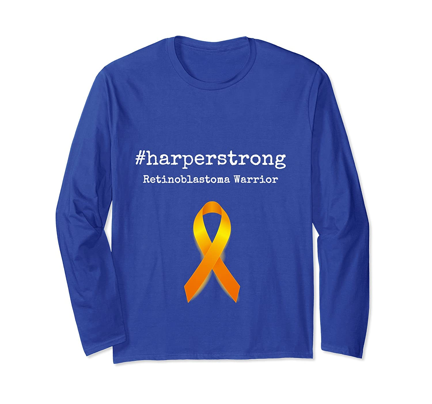#harperstrong Retinoblastoma Warrior Awareness Long Sleeve-alottee gift