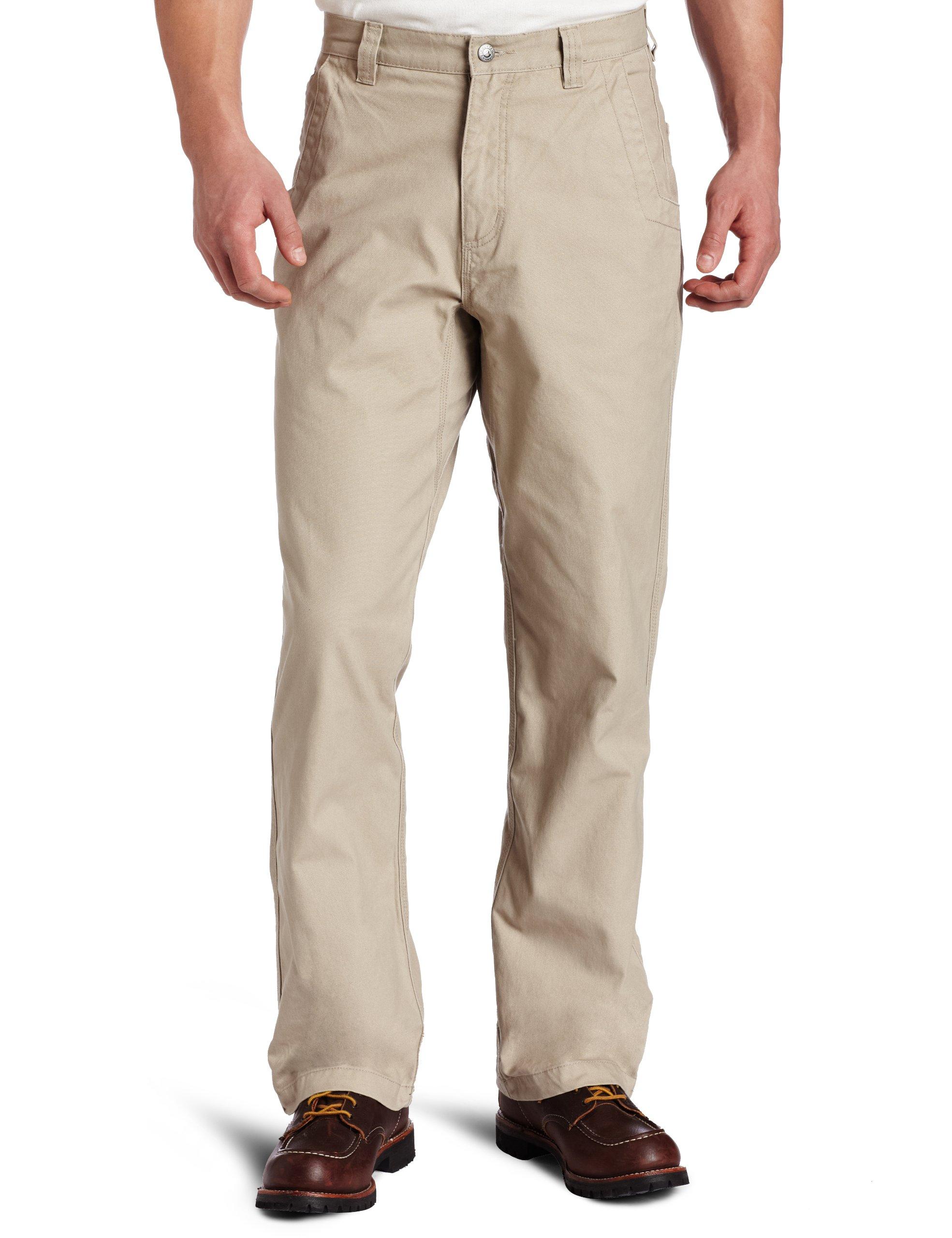 Mountain Khakis Men's Original Mountain Pant Relaxed Fit Freestone 30W 30L
