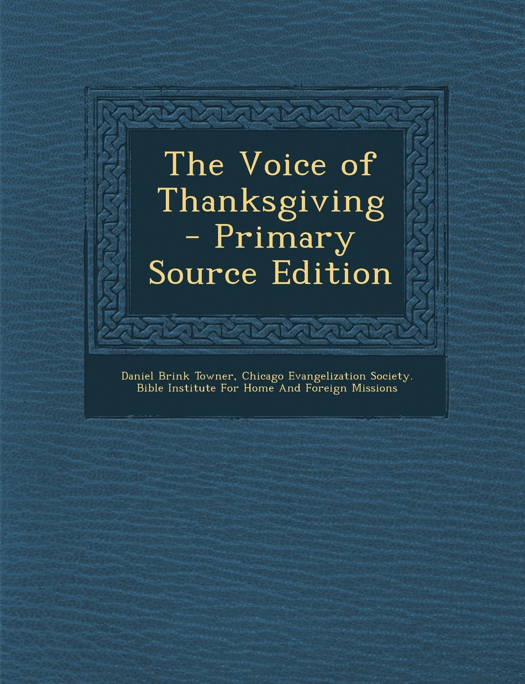 Download Voice of Thanksgiving PDF
