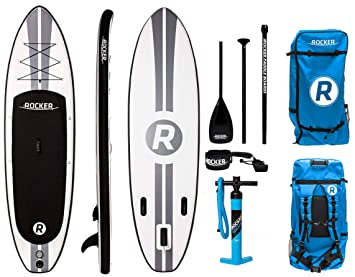 irocker hinchable All-around Stand Up Paddle Board 10 de largo 32 cm de ancho