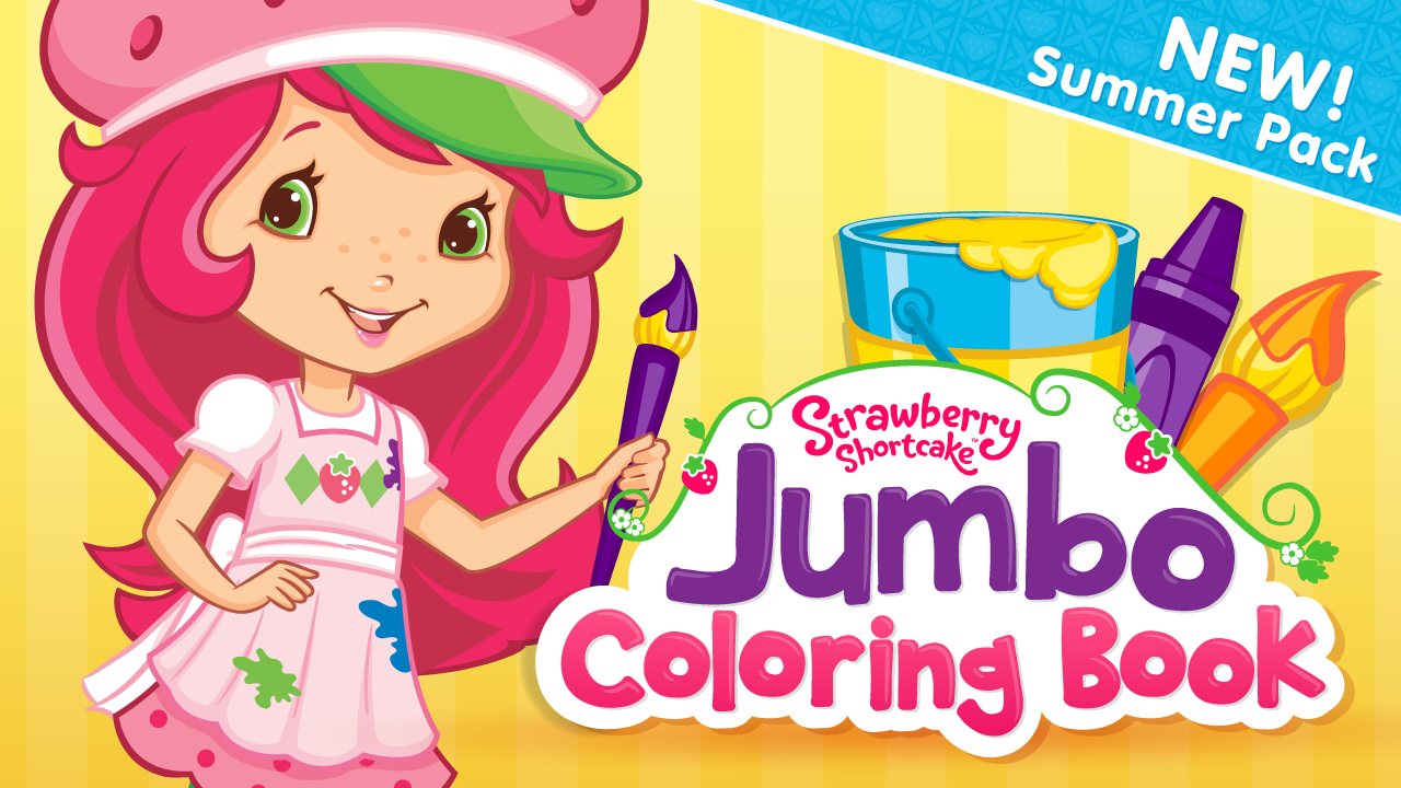 Uncategorized Strawberry Shortcake Picture amazon com strawberry shortcake jumbo coloring book appstore for android