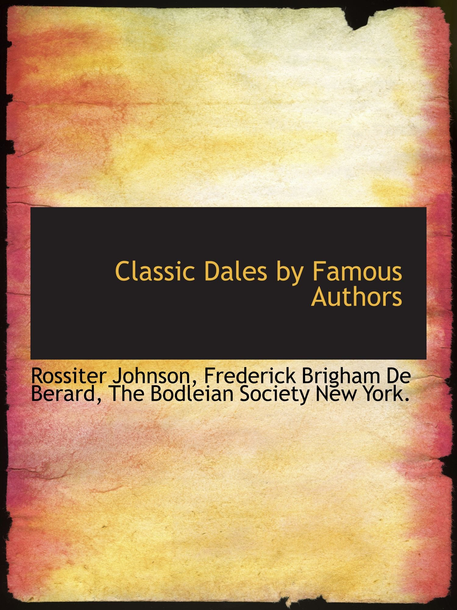 Download Classic Dales by Famous Authors ebook