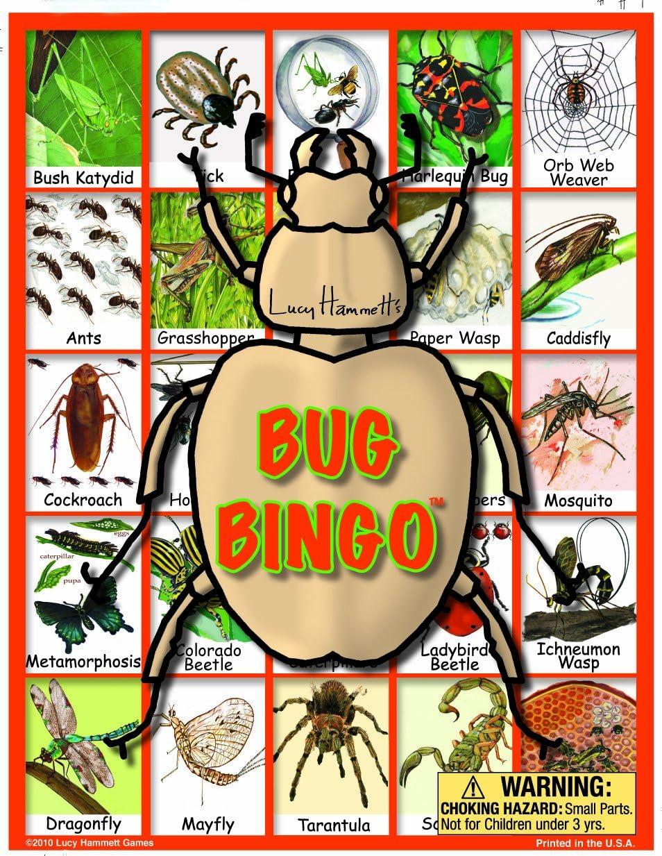 Lucy Hammett Games Bug Bingo Board Game