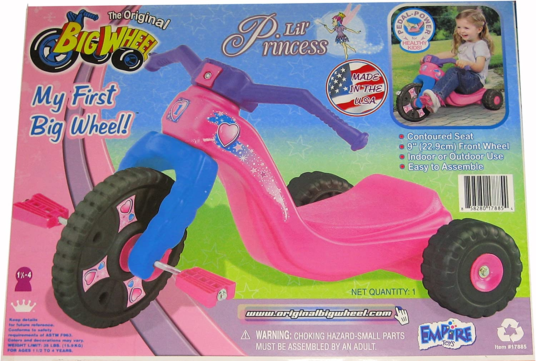 My 1st Pink Original Big Wheel for Girls 9 Trike Lil Princess