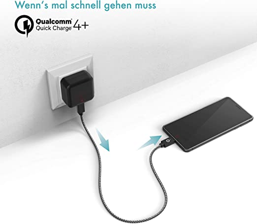 Quick Charge 4 0 Usb C Ladegerät I Handy Elektronik