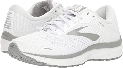 fd5d962ffa3 Image Unavailable. Image not available for. Color  Brooks Women s  Adrenaline GTS 18 White White Grey ...