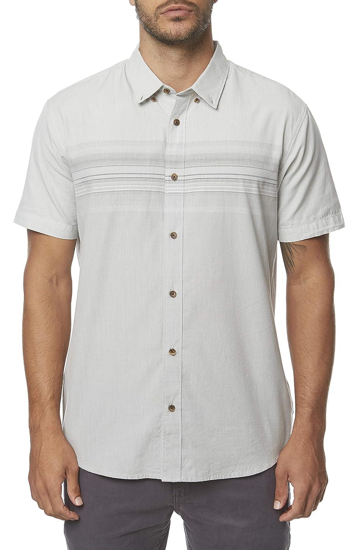 ONeill Mens Standard Fit Short Sleeve Button Down Shirt