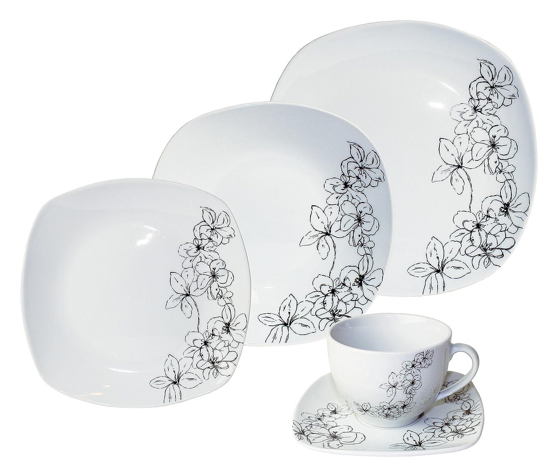 Arte Viva Kaffee- und Tafelservice TOSCA, 30-teilig, Porzellan ...