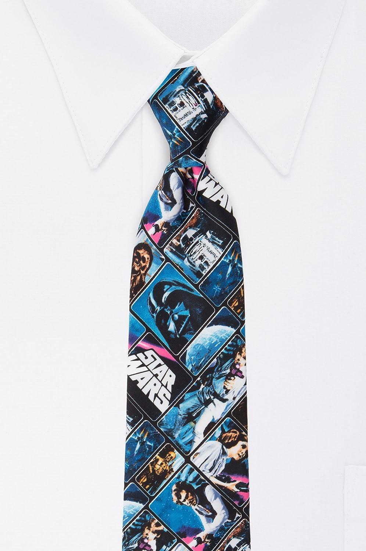 Star Wars - Póster de corbata vintage para hombre - Azul - talla ...
