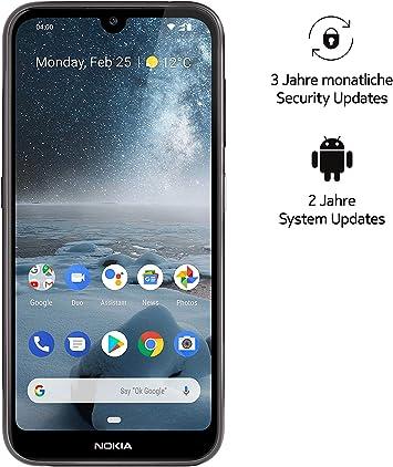 Nokia 4.2 Dual SIM - Smartphone (14,5 cm (5,71 Pulgadas), cámara Principal de 13 MP, 3 GB de RAM, 32 GB de Memoria Interna, Android 9 Pie), Color Negro: Amazon.es: Electrónica