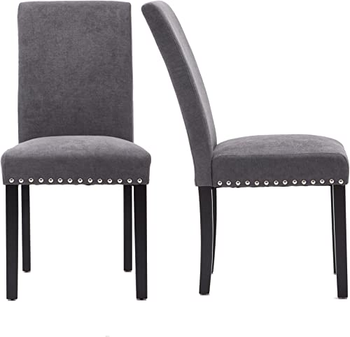 Upholstered Dining Chairs Padded Parson Chair