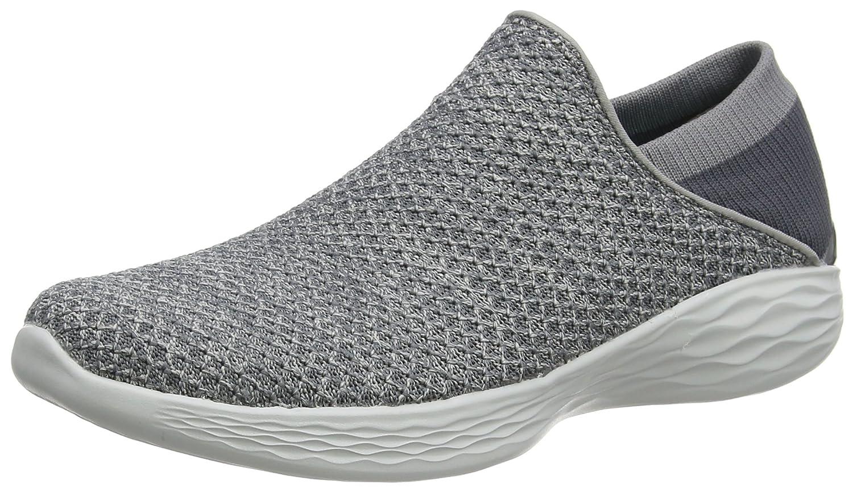 Skechers You, Zapatillas para Mujer 38 EU|Gris (Charcoal)