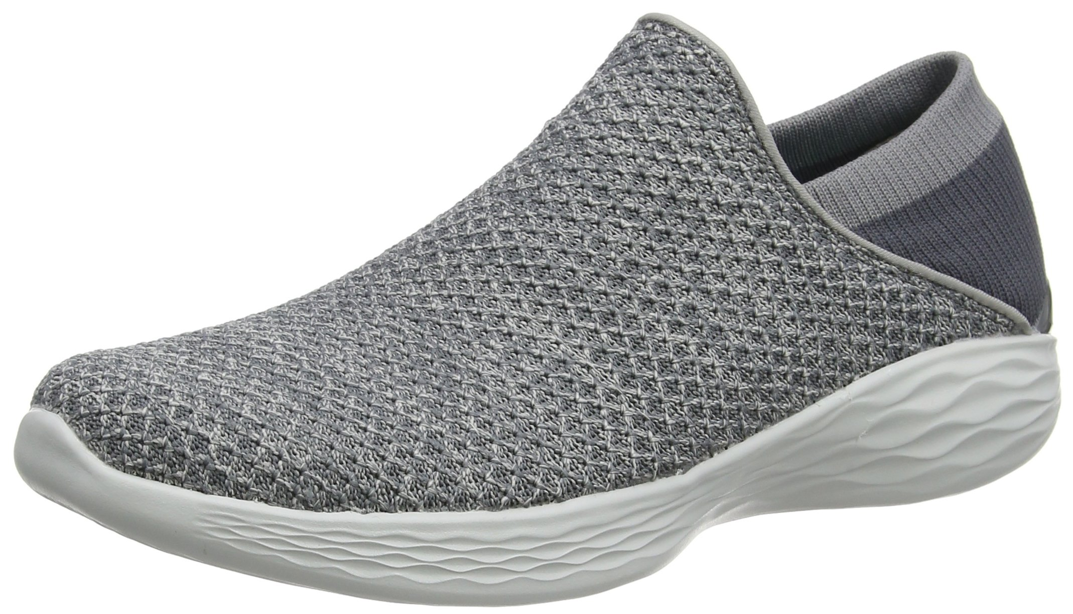 Skechers You Women's You Slip-on Shoe,Charcoal,9 M US