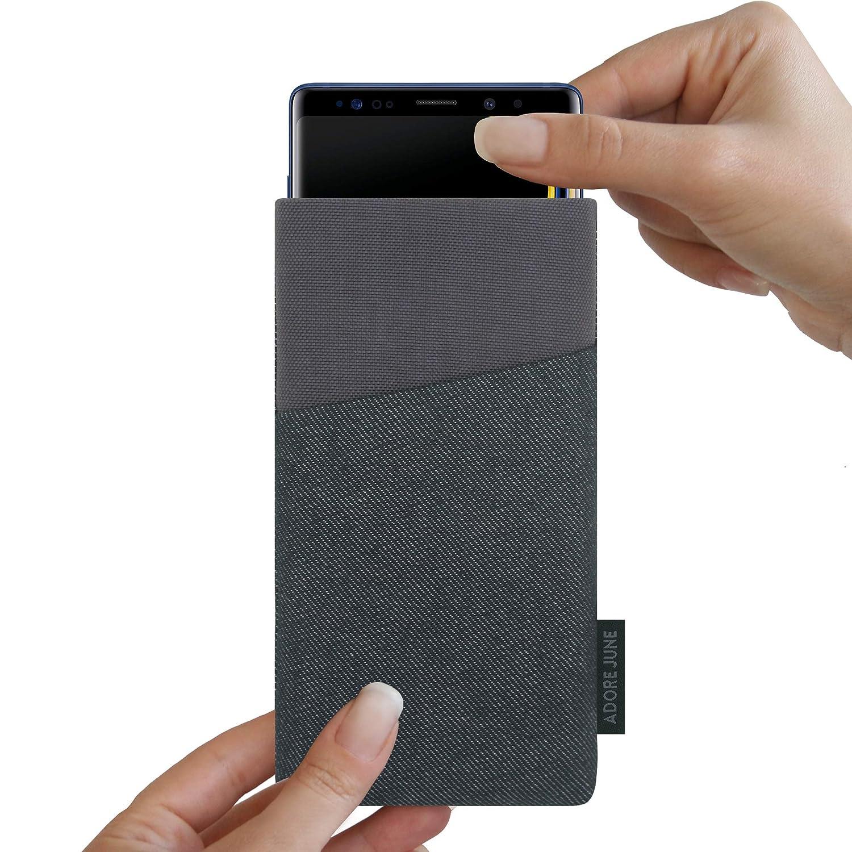 adore june note 9  Adore June Clive - Funda para Samsung Galaxy Note 9, Negro//Gris ...