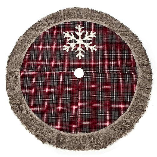 Petit Tourbillon - Falda para árbol de Navidad, 42 arpilleras ...