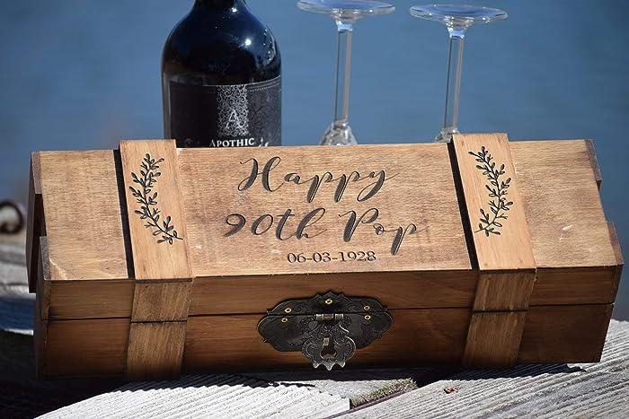 Amazon Lockable Wine Box Wedding Wine Box Locking Wine Box