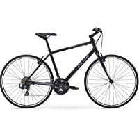 Fuji Unisex Adult Absolute 2.3 Life Style/Fitness Bike - Black/Grey, 19 Inches