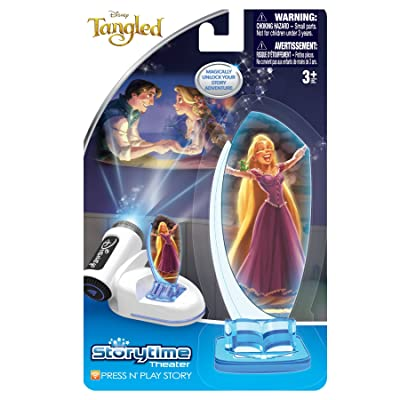 Tech 4 Kids Story Time Theater Press & Play Tangled Toy: Toys & Games