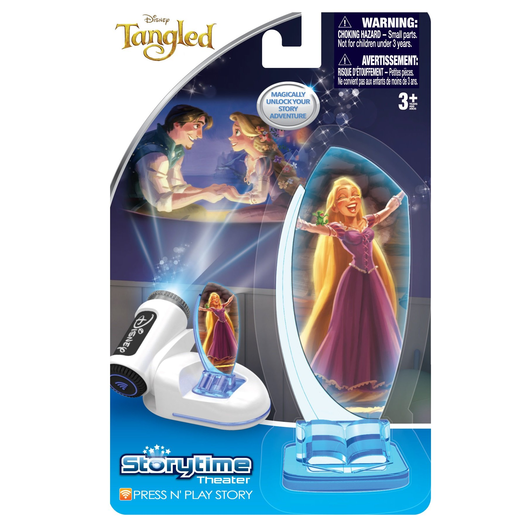 Tech 4 Kids Story Time Theater Press & Play Tangled Toy