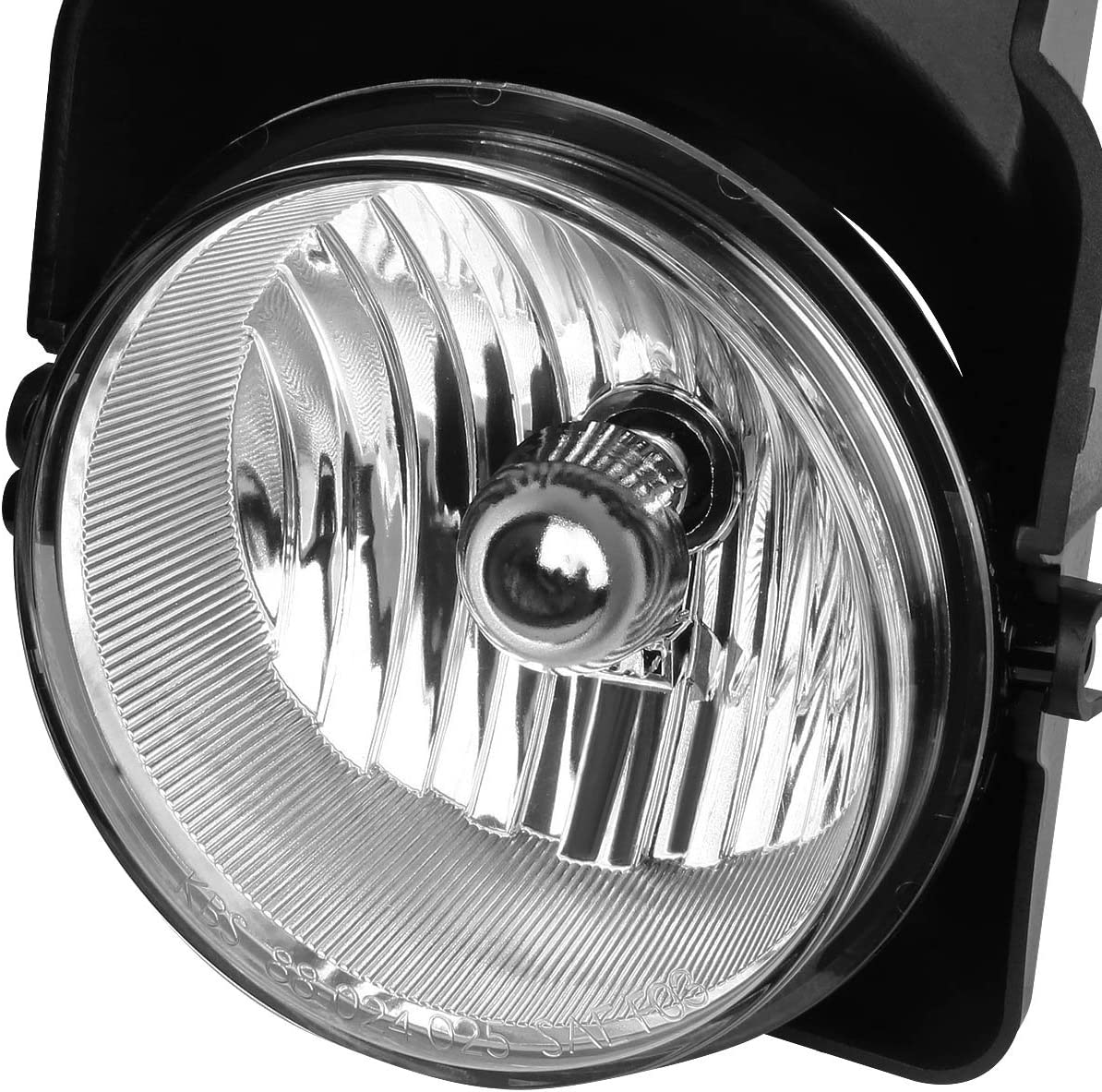 DNA Motoring FL-NS016-CH Front Bumper Fog Light