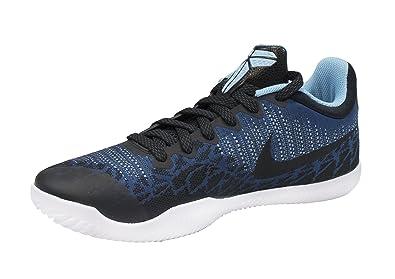 NIKE Men's Mamba Rage Basketball Shoes Blue Nebula/Black/Blue Gale/White  Size