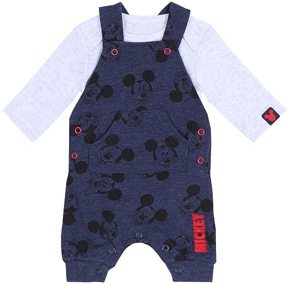 Conjunto bebé Azul Marino Mickey Mouse Disney: Amazon.es: Ropa y ...