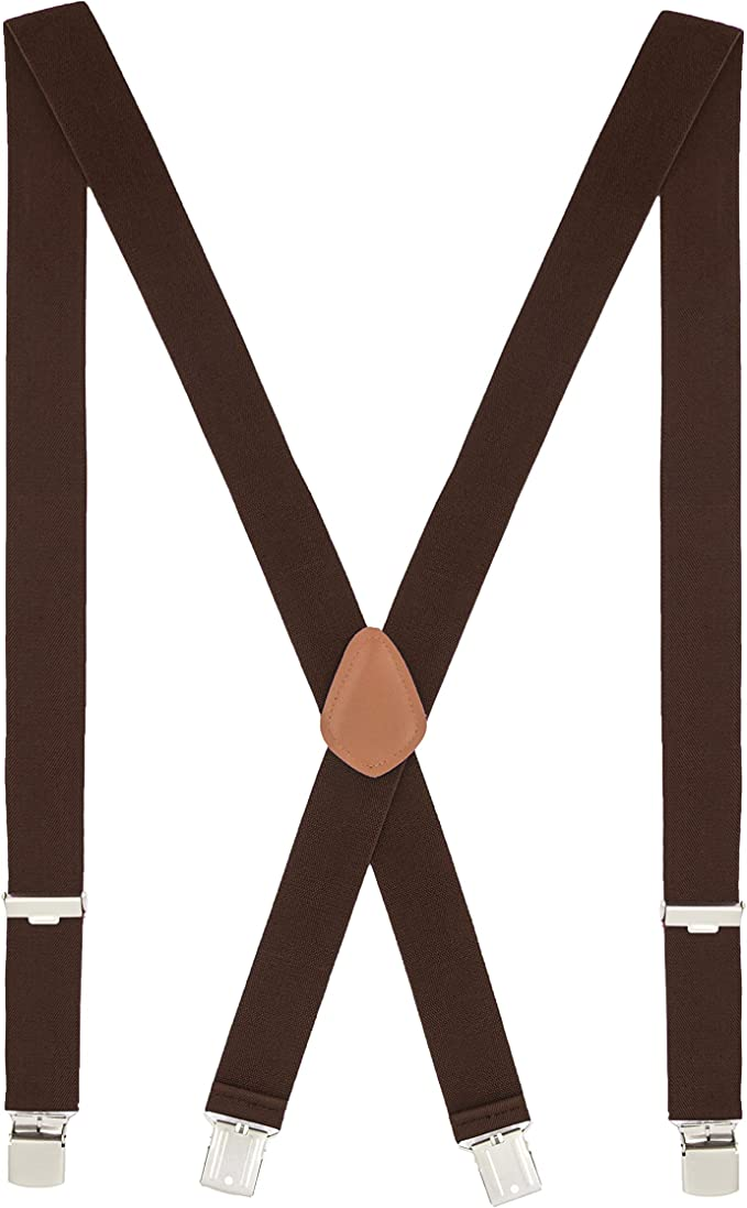 Children/'s Plain Red Trouser Braces Elastic Suspenders Handmade in England