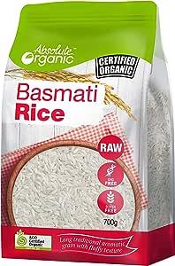 Absolute Organic Basmati Rice, 700g