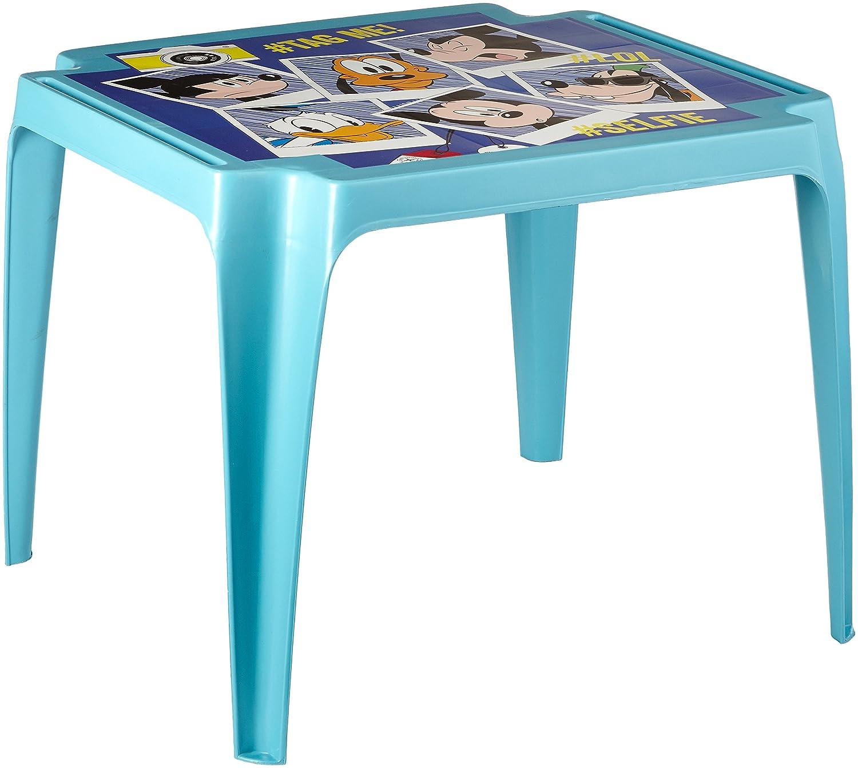 Progarden 951 Kindertisch Tavolo Baby 'Mickey', Vollkunststoff, 50 x 55 x 45 cm, Verde 8009271009516