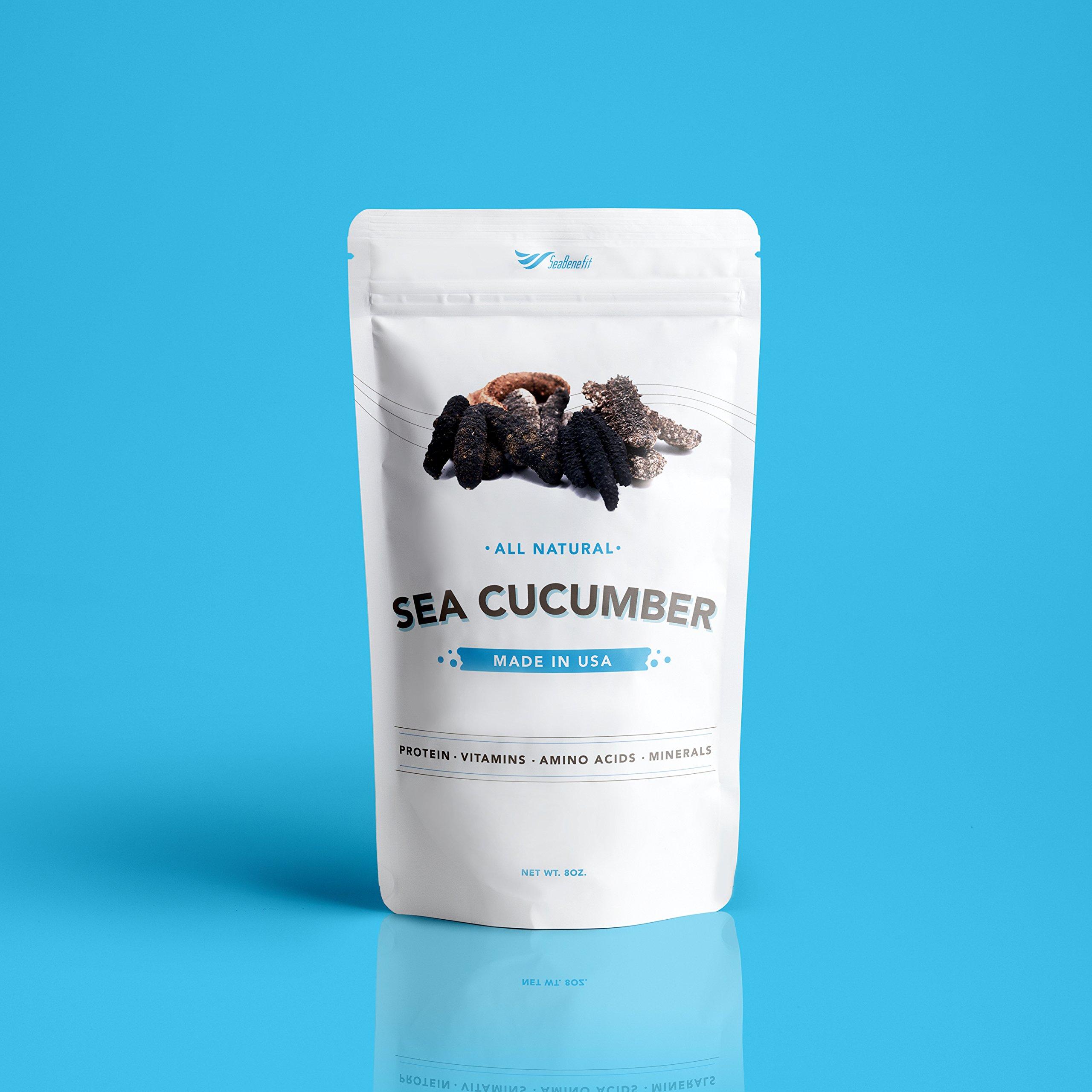 SB Organics Alaskan Red Large - Wild Caught Sea Cucumber Dried All Natural Nutritious - 8 oz. by SB Organics (Image #2)