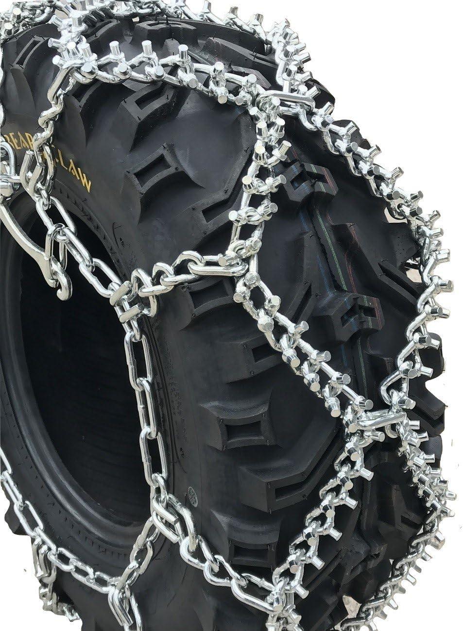 26 8 12 ATV UTV Stud Tire Chains Priced per Pair TireChain.com 26x8-12