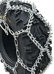 TireChain.com Arctic Cat TRV 550 XT 25x10-12 Rear NOT Studded Diamond ATV Tire Chains
