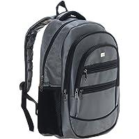 PLM Case Kumaş Notebook/Evrak Sırt Çantası 15.6inç tüm cihazlar, Gri