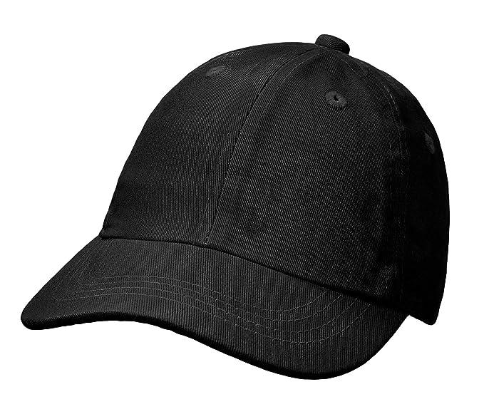 City Threads Baby Solid Baseball Hat Sun Protection SPF Beach Summer -  Black - S( c4f95b03c990