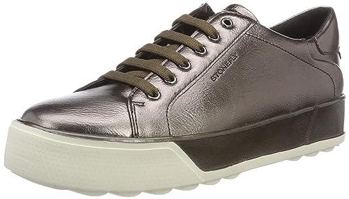Zapatos Stonefly Mujer Amazon Y Cordones Metal Complementos De Derby Para es 3 Stella Sttq6H