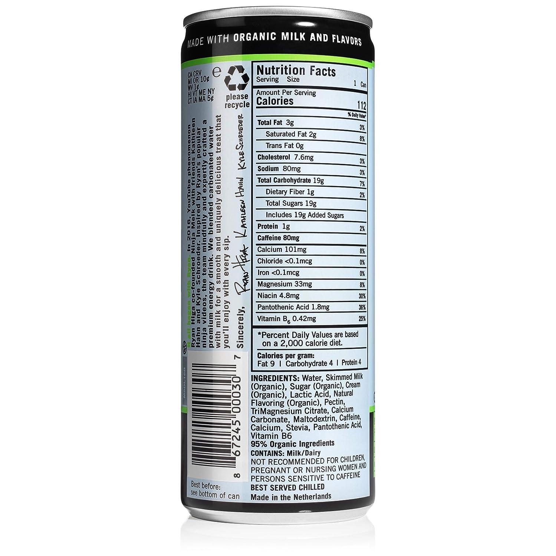 Ninja Melk, Natural Delicious Energy Drink: Amazon.com ...
