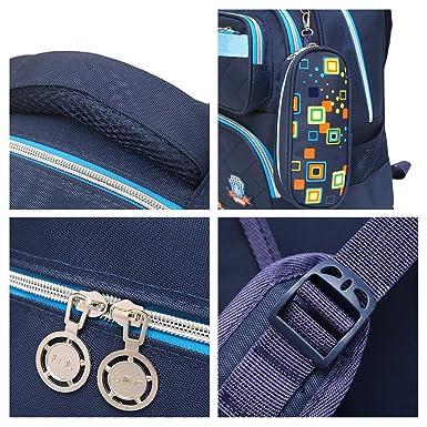Amazon.com | Kids Rolling Backpacks Trolley Schoolbag 6 Wheeled Waterproof Removable luggage | Kids Backpacks
