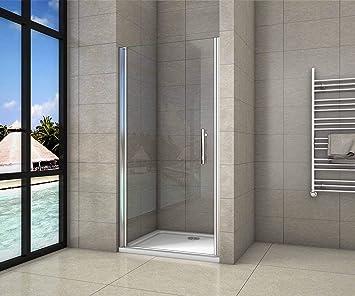 Mamparas de ducha pantalla baño 6mm Easyclean vidrio 90x195cm: Amazon.es: Bricolaje y herramientas