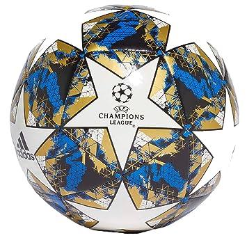 adidas Fin ist CLB Soccer Ball, Mens, White/Dark Blue/Silver Met ...