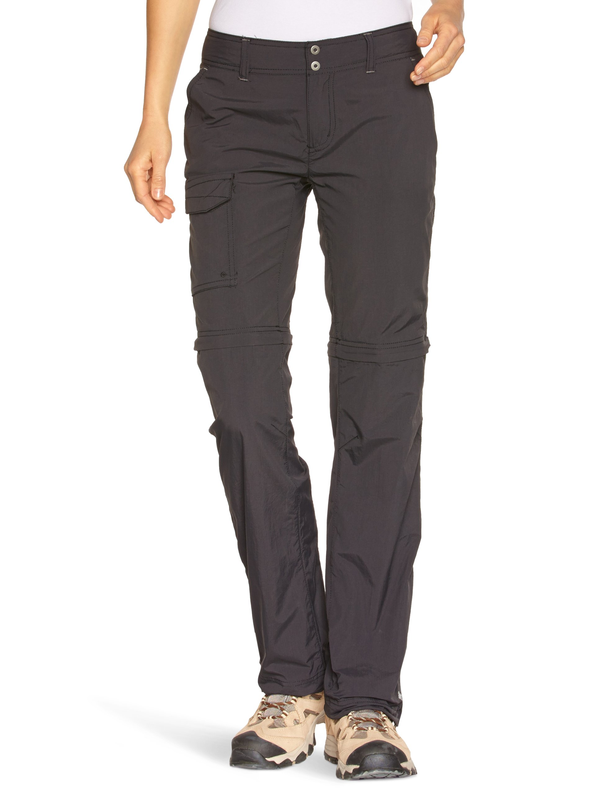 Columbia Women's Silver Ridge Convertible Full Leg Pant, 6, Black,32.0 in long