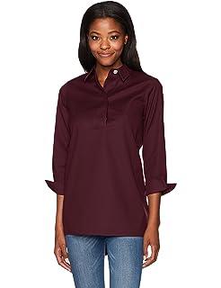 35d463b671e0c Foxcroft Women s Plus Size Long Sleeve Jade Heirloom Paisley Tunic ...