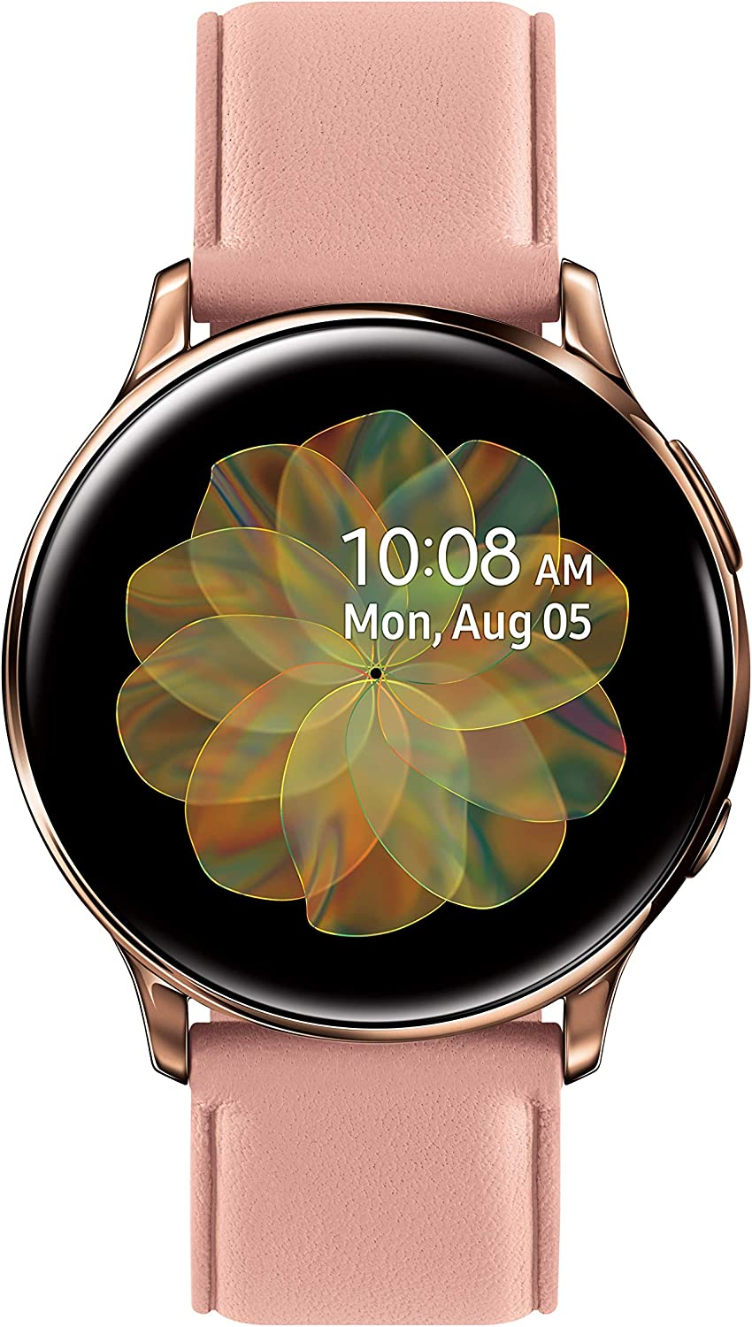 Samsung Galaxy Watch Active2 W/ Enhanced Sleep Tracking Analysis, Auto Workout Tracking, and Pace Coaching (40mm, GPS, Bluetooth, Unlocked LTE), Pink Gold - US Version with Warranty