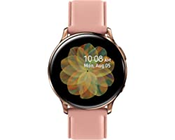 SAMSUNG Galaxy Watch Active 2 (44mm, GPS, Bluetooth, Unlocked LTE) Smart Watch with Advanced Health monitoring, Fitness Track
