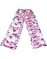 Zumba Pink Camo Cargo Pant